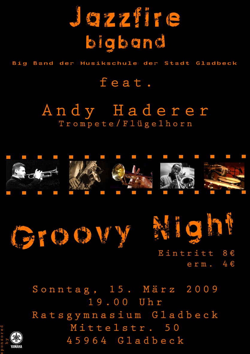 Groovy Night Konzert mit Andy Haderer